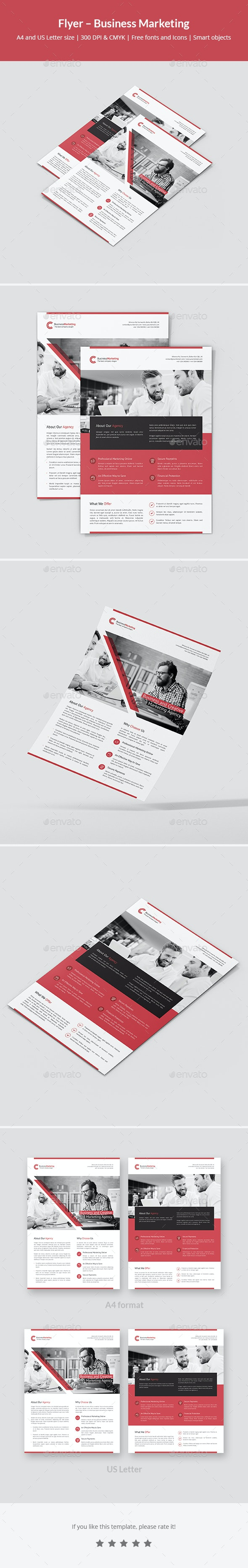 Flyer – Business Marketing - Corporate Flyers