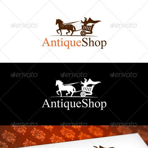 Antique Shop Logo Template