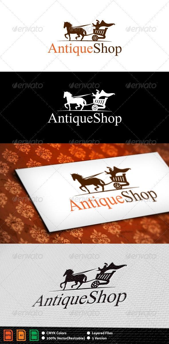 Antique Shop Logo Template - Animals Logo Templates