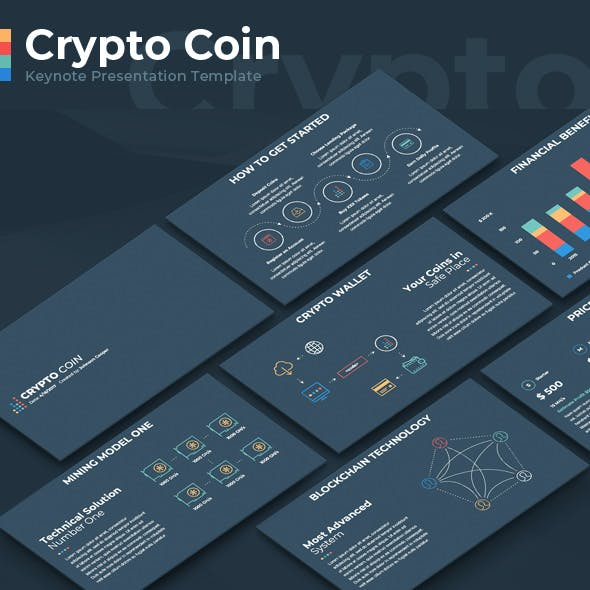 Crypto Coin Keynote Presentation Template