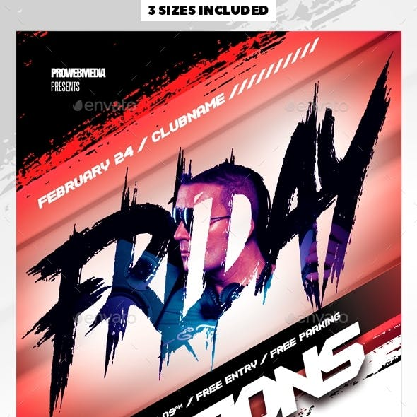 Nightclub Party Flyer / Poster