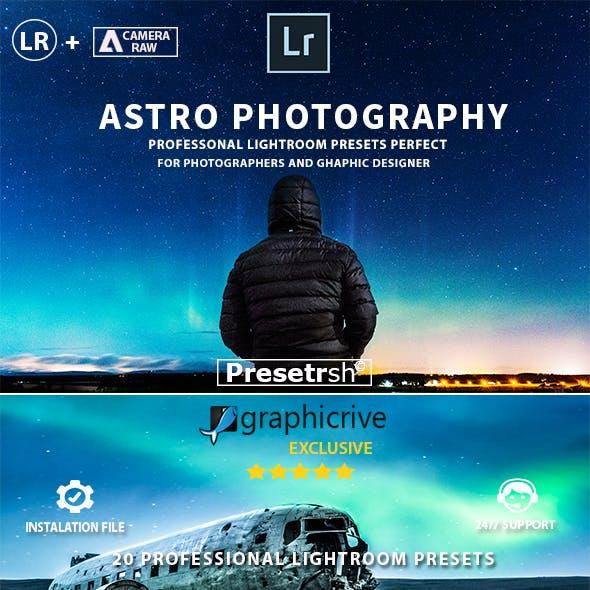 20 Pro Astrophotography Lightroom Presets