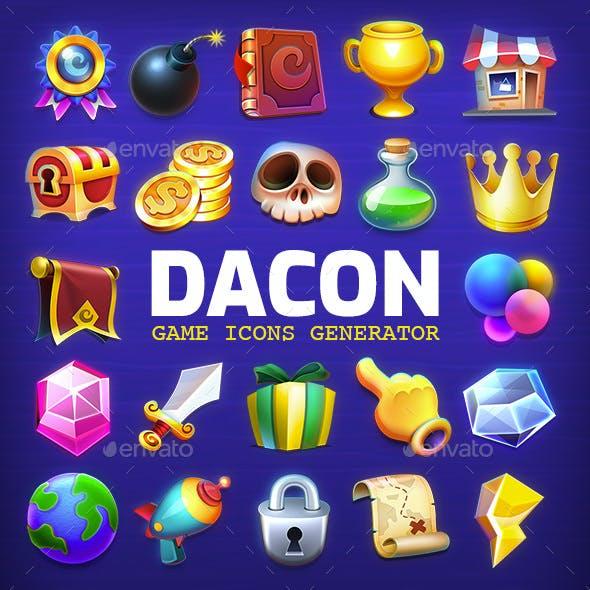 DACON - Game Icon Generator