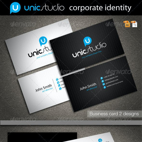 Unic Studio Corporate Identity