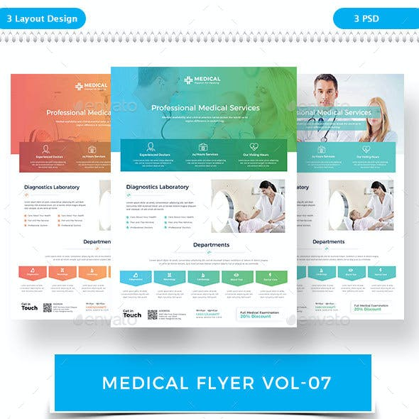 Medical Flyer VOL-7