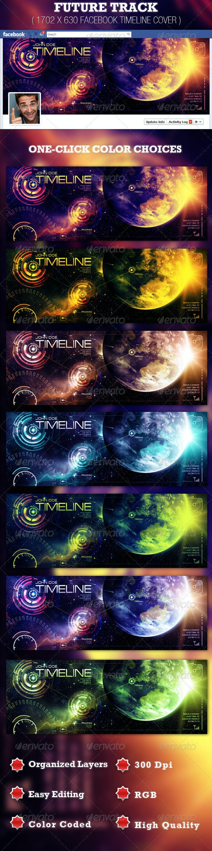 Future Track Facebook Timeline Cover Template - Facebook Timeline Covers Social Media