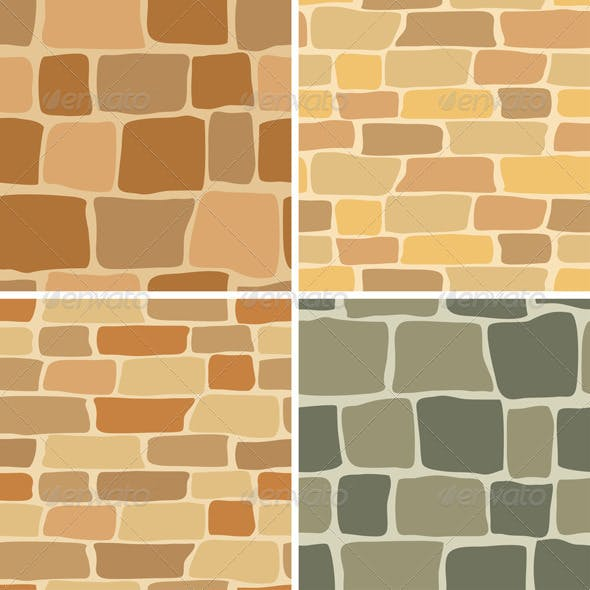 Stone Wall - Seamless Patterns