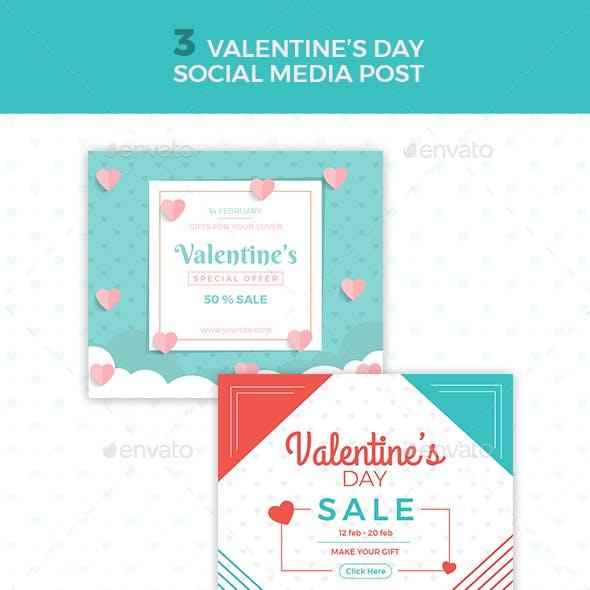 Valentines Day Social Media Posts