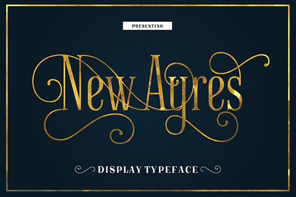 New Ayres Typeface
