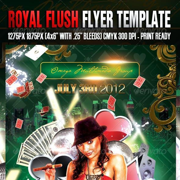 Royal Flush Template