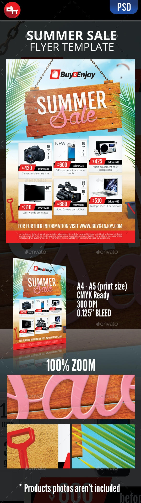 Summer Sale - Commerce Flyers