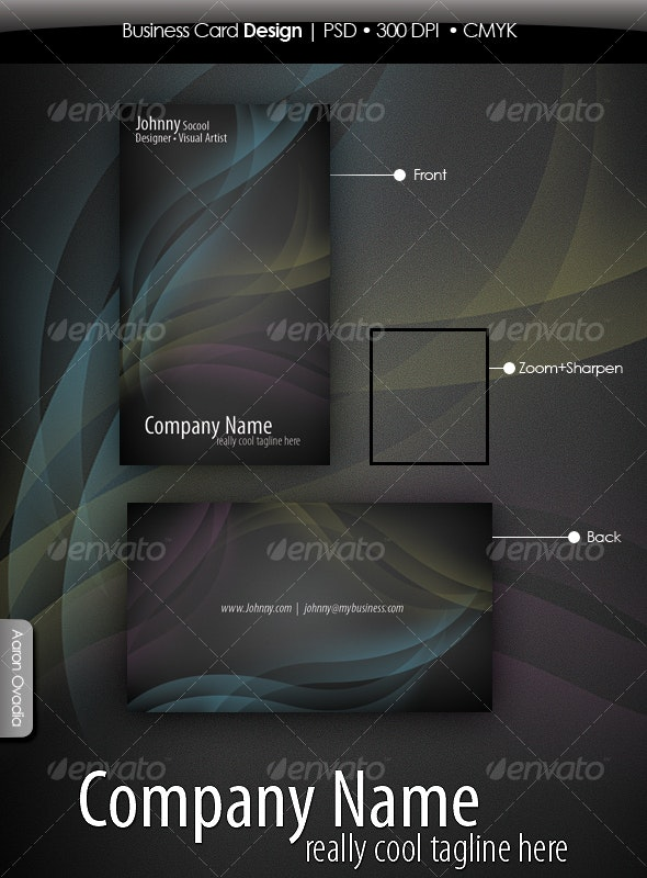 Clean, Elegant, Business Cards - Creative Business Cards
