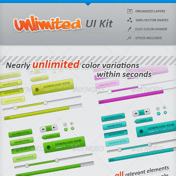 Unlimited UI Kit