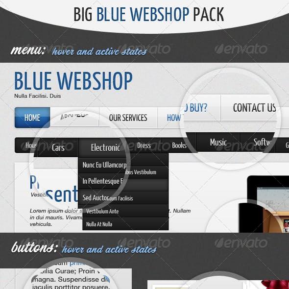 Big Blue Webhsop Pack
