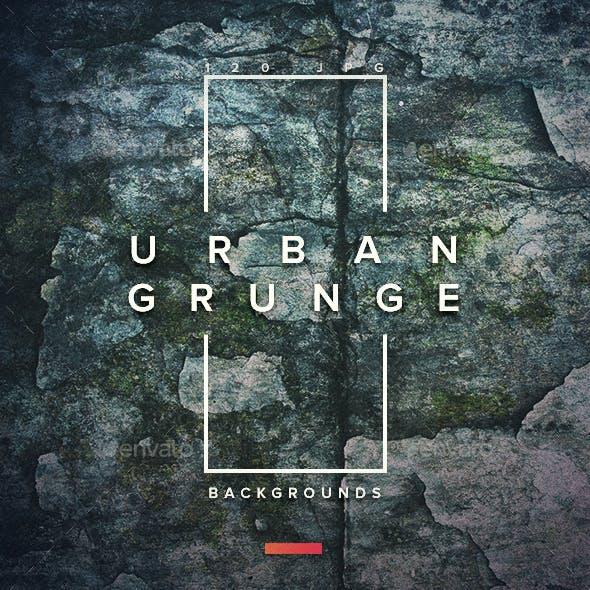 120  Urban Grunge Backgrounds