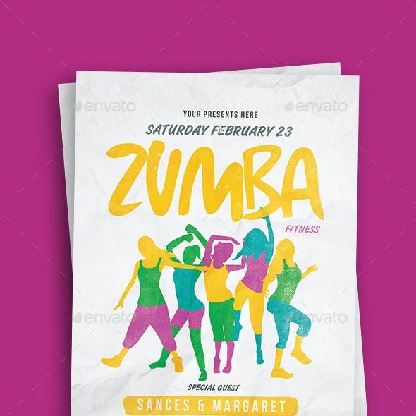 Zumba Party Flyer Vol.2