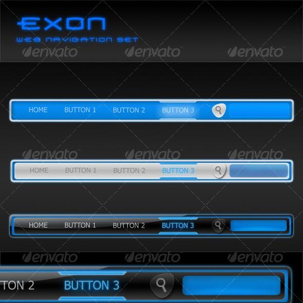 EXON WEB NAVIGATION