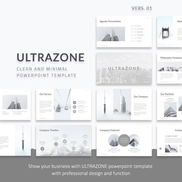 Ultrazone V1 - Clean and Minimal Google Slides Multipurpose Presentation Template