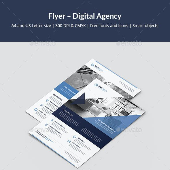 Flyer – Digital Agency