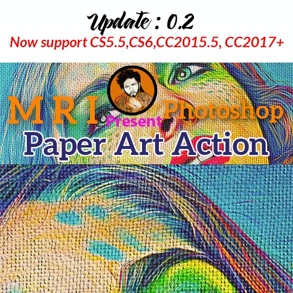 Paper Art Action
