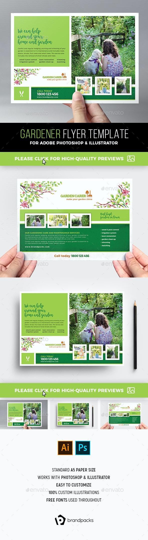 Gardener Flyer Template - Corporate Flyers