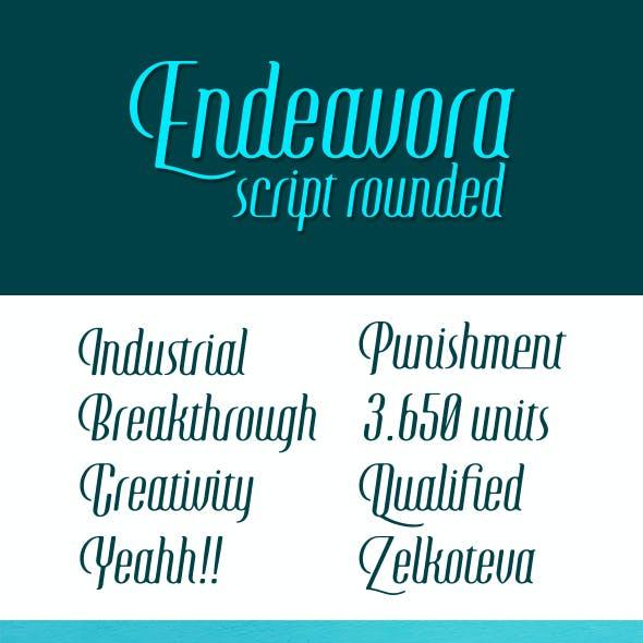 Endeavora Script Rounded