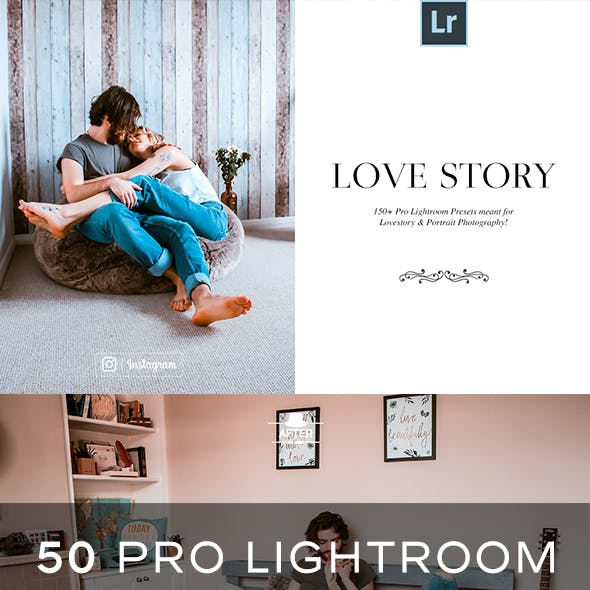 50 LoveStory Lightroom Presets