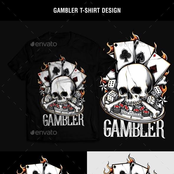 Gambler T-Shirt Design