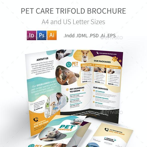 Pet Care Trifold Brochure 7
