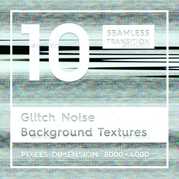 Glitch Noise Background Textures