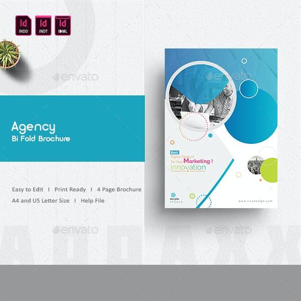 Agency Bi Fold Brochure