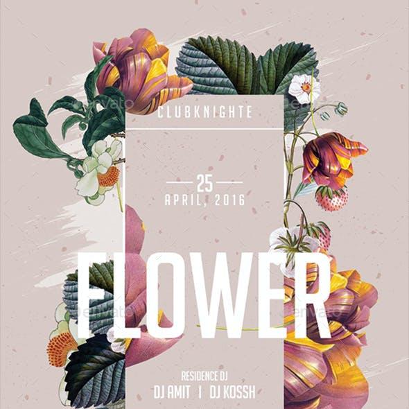 Flower Poster / Flyer