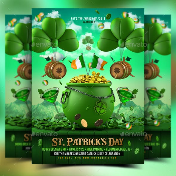 St. Patrick's Day Flyer