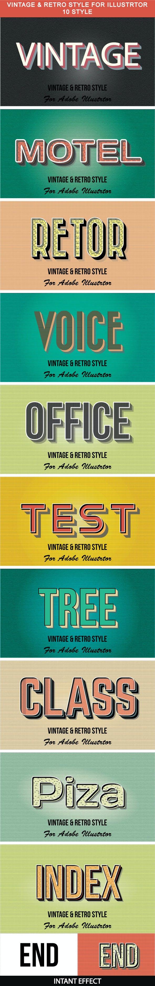 10_Vintage & Retro Style
