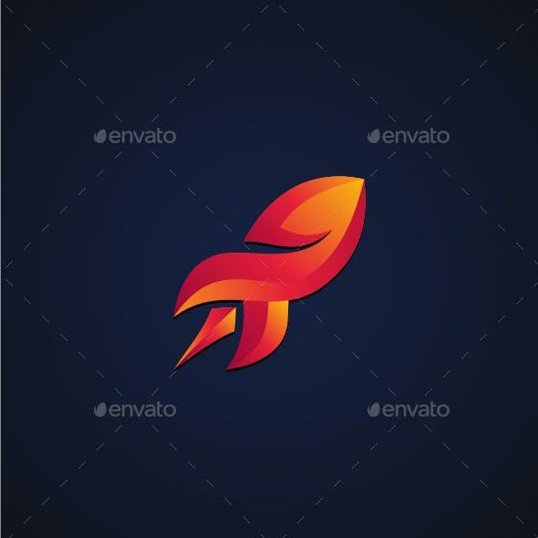Rocket Flame Logo