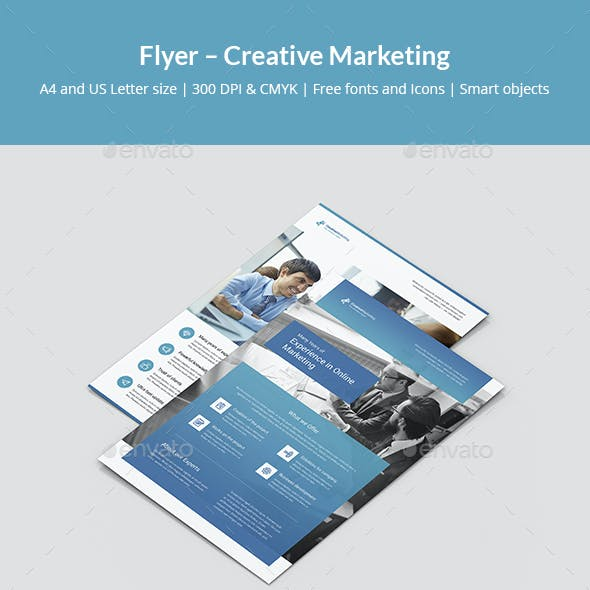 Flyer – Creative Marketing