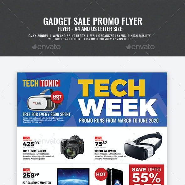 Gadget Sale Flyer