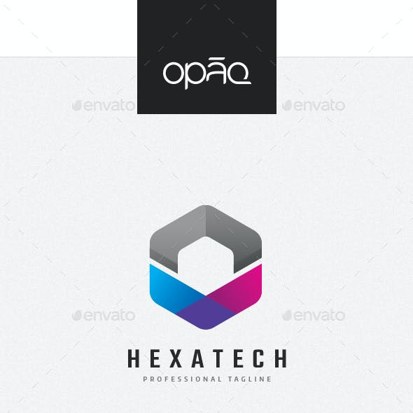 Hexagon Arrow Logo