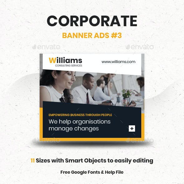 Corporate Ad Banners #3