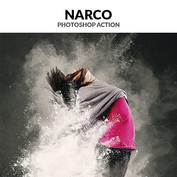 Narco Photoshop Action