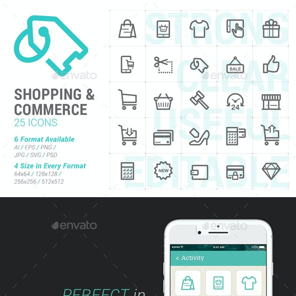 Shopping & Commerce Mini Icon