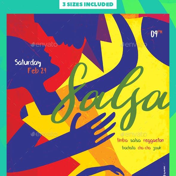 Salsa Dance Flyer