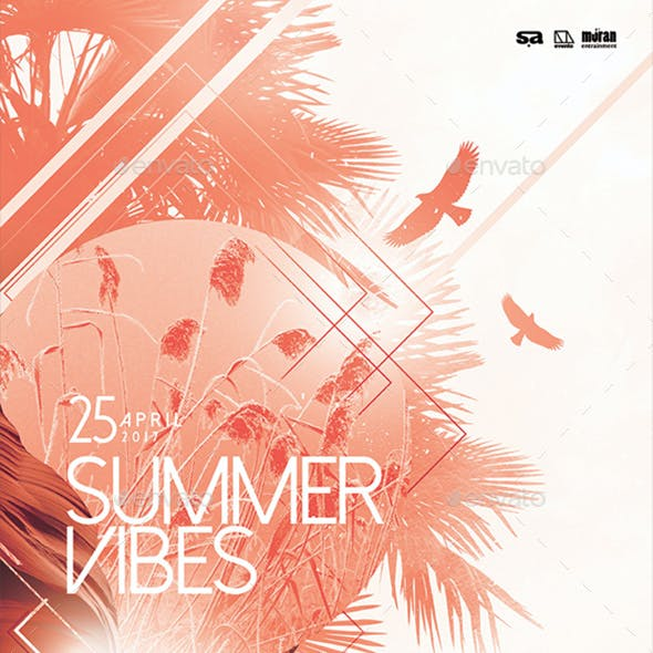 Summer Vibes Poster / Flyer