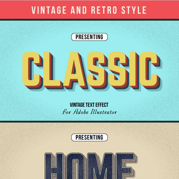 Vintage And Retro Style