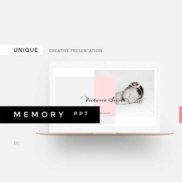 Memory Powerpoint Template