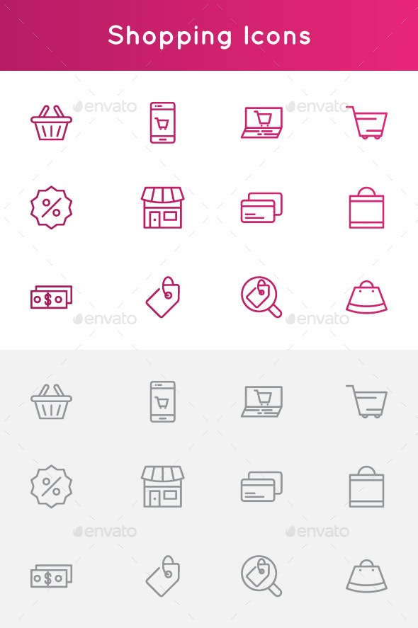 Shopping Icons - Technology Icons