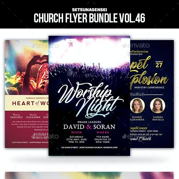 Church Flyer Bundle Vol. 46