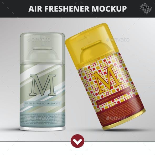 250ml Air Freshener Bottle Mockup