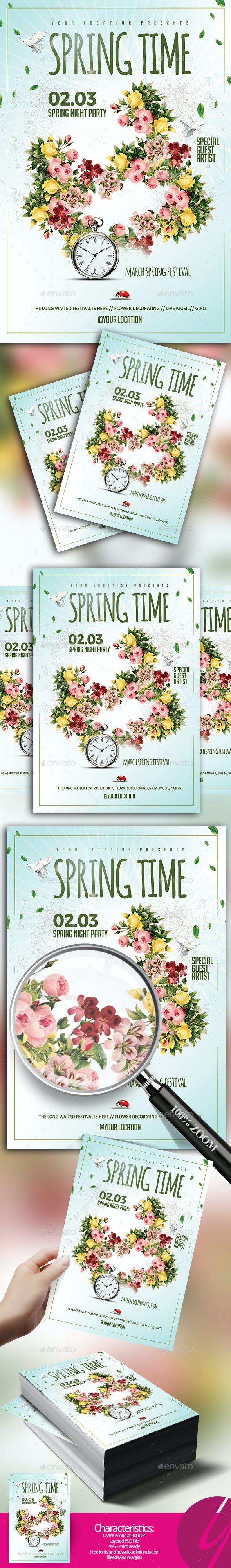 Spring Time Flyer