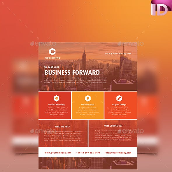 Corporate/Business Flyer Template 05